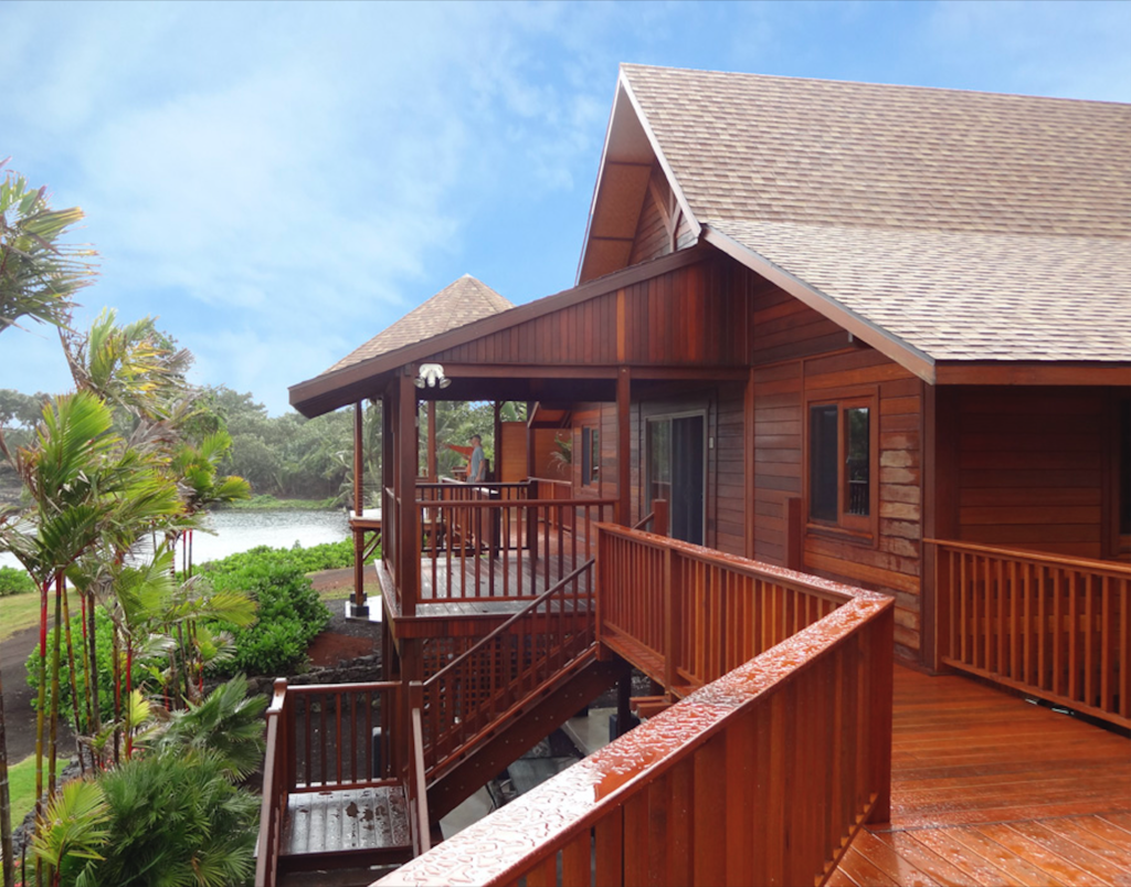Hawaii Exterior Wood & Deck Staining Services